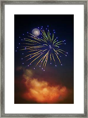 Celestial Celebration  Framed Print