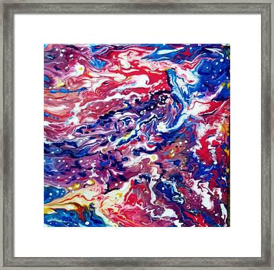 Celestial Crab Framed Print by Gail Butler
