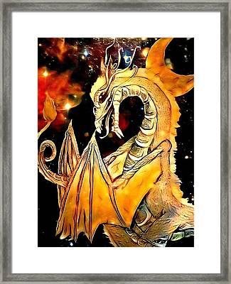 Celestial Draconis Framed Print by Joshua Massenburg