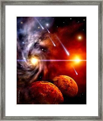 Celestial Framed Print by Dreamlight  Creations