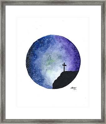 Celestial  Framed Print by Edwin Alverio