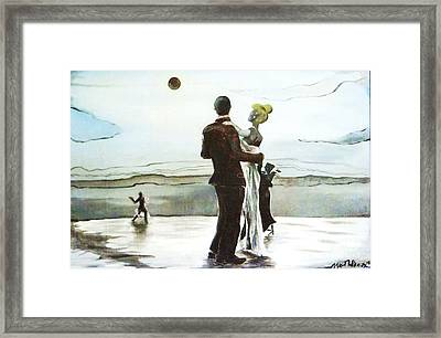 Celestial Embrace Framed Print by Aaron Wilcox