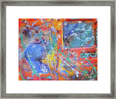 Celestial Eruption Framed Print