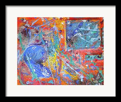Sublunary World Paintings Framed Prints