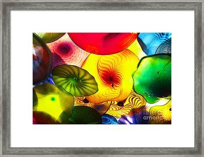 Celestial Glass 2 Framed Print by Xueling Zou
