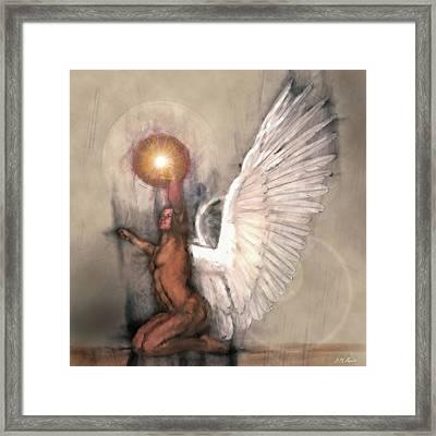 Celestial Glory Framed Print by Michael Durst