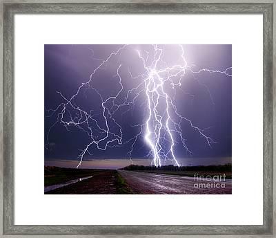 Celestial Hammer Framed Print