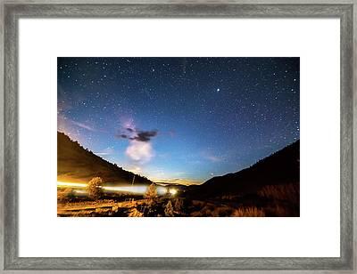Celestial Highway Framed Print by James BO Insogna