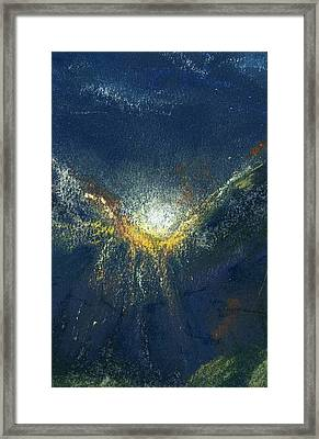 Celestial Framed Print by Marilyn Barton