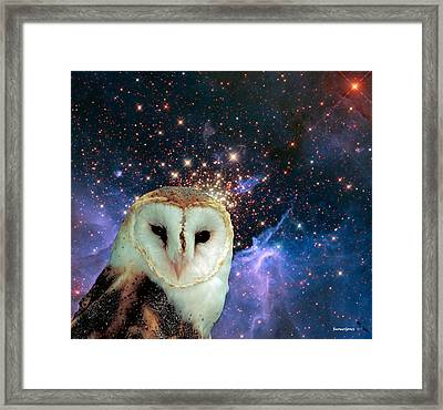 Celestial Nights Framed Print by Robert Orinski