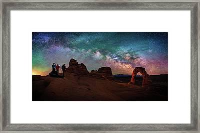 Celestial Prelude Framed Print