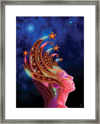Celestial Queen Framed Print