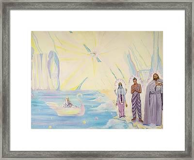Celestial Shores Framed Print