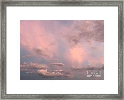 Celestial Sky Framed Print by Paula Guttilla