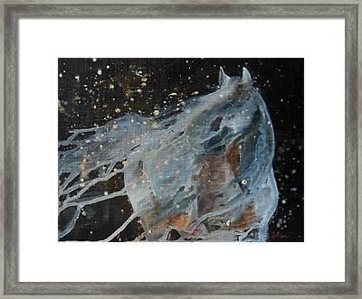 Celestial Stallion  Framed Print