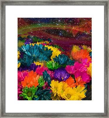 Celestial  Summer  Framed Print