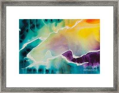 Celestial Traveler No. 2295 Framed Print by Ilisa Millermoon
