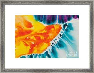 Celestial Traveler No. 2296 Framed Print by Ilisa Millermoon