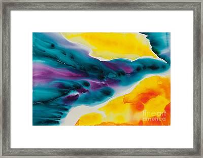 Celestial Traveler No. 2298 Framed Print by Ilisa Millermoon