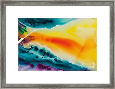 Celestial Traveler No. 2299 Framed Print by Ilisa Millermoon