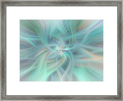 Celestial Vortex Framed Print by Jenny Rainbow