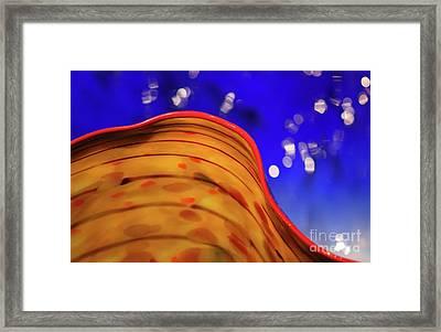 Celestial Wave Framed Print