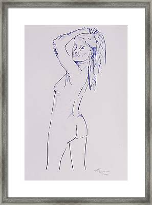 Celestine Imagina Framed Print by Contemporary Michael Angelo