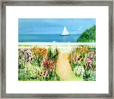 Celia Thaxter Framed Print by Michela Akers