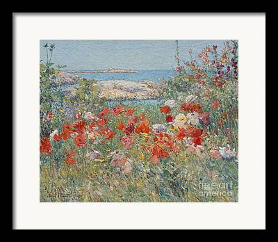 Spring In Maine Paintings Framed Prints
