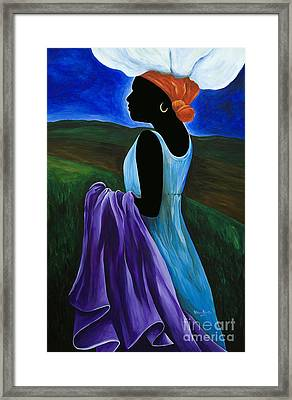 Celimene Framed Print by Patricia Brintle