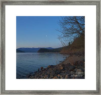 Framed Print featuring the photograph Celista Sunrise 3 by Victor K