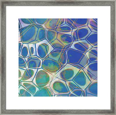 Cell Abstract 13 Framed Print by Edward Fielding