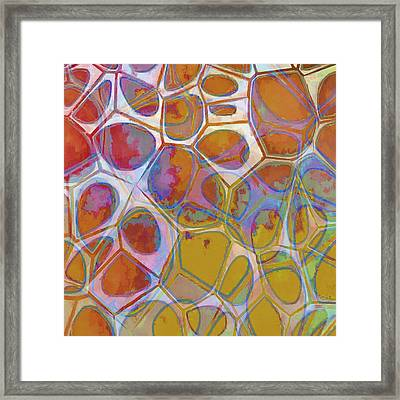 Cell Abstract 14 Framed Print by Edward Fielding
