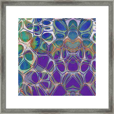 Cell Abstract 17 Framed Print by Edward Fielding