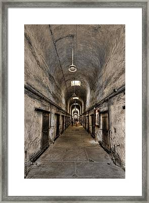 Cell Block  Framed Print