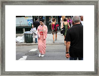Framed Print featuring the photograph Cell Phone by JoAnn Lense