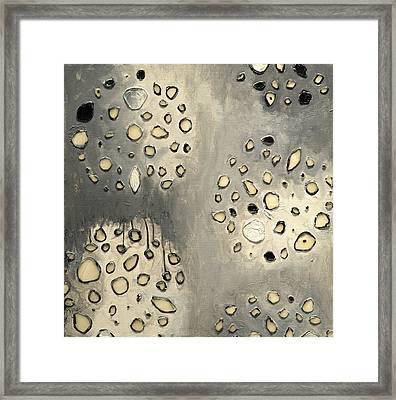Cell Scape Framed Print by Angela Dickerson
