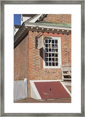 Cellar Door Prentis Store Framed Print by Teresa Mucha