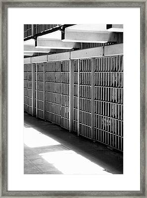 Cellblock A Framed Print