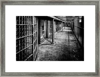 Cellblock No. 9 Framed Print by Tom Mc Nemar