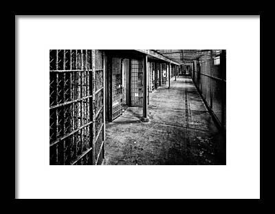 Prison Cell Framed Prints