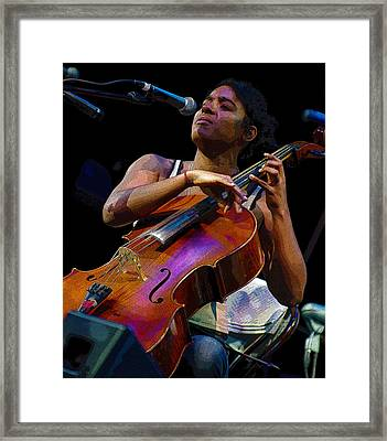 Cellist Framed Print