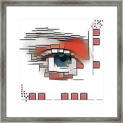 Cellmate 0601 Framed Print by Carol Leigh