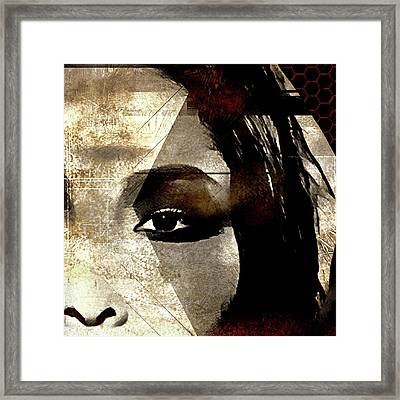 Cellmate 0753 Framed Print by Carol Leigh