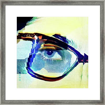 Cellmate 9284 Framed Print by Carol Leigh