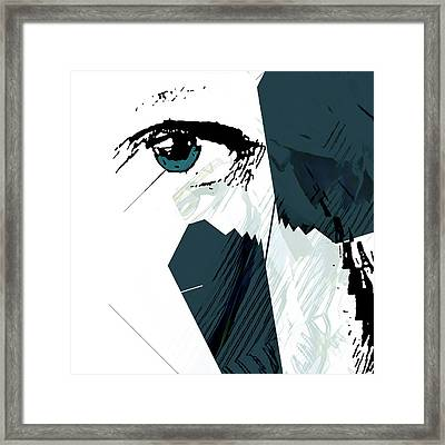 Cellmate 9405a Framed Print by Carol Leigh