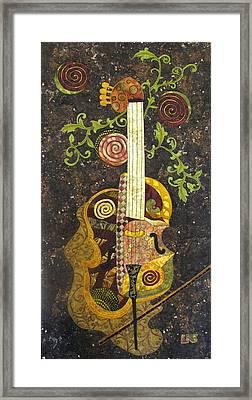 Cello Fantasy Framed Print by Lynda K Boardman