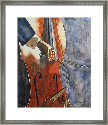Cello Framed Print by Guri Stark