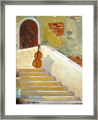 Cello No 3 Framed Print
