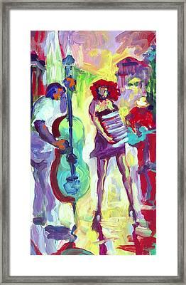 Cello Framed Print by Saundra Bolen Samuel